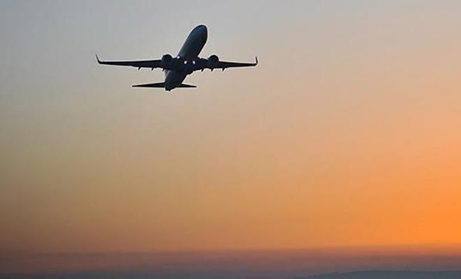 Hava yoluyla taşınan yolcu sayısı ocakta 14 milyon oldu