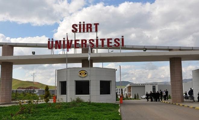 """Siirt Üniversitesi'nin bazı bölümlerinde """"yüz yüze eğitim"""" kararı"""