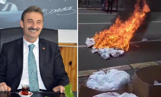 Belediye başkanı şapkanın üzerinde Kürdistan yazılı diye fabrikayı bastı