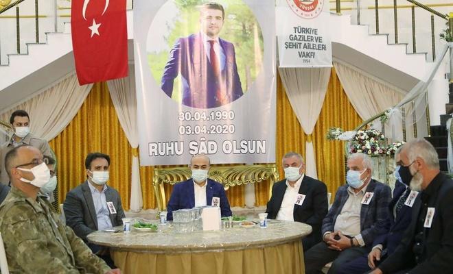 PKK saldırısında katledilen inşaat mühendisi için mevlid okutuldu