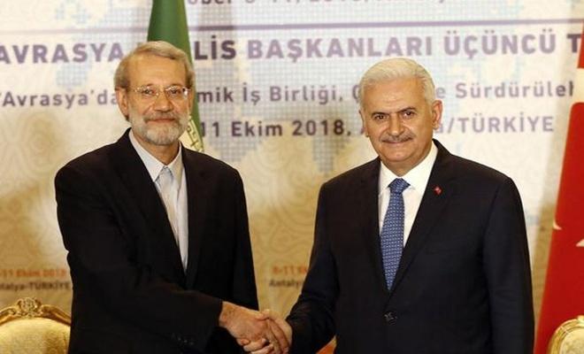 Laricani: ABD, İran ve Türkiye`nin dostane ilişkilerinden rahatsız