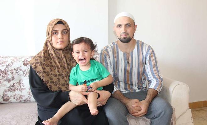Doğuştan engelli Muhammed Eren'in ailesinden hayırseverlere destek çağrısı