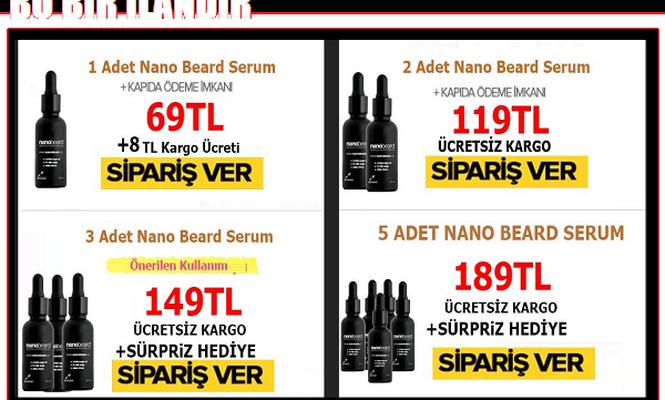 Erkekler İçin Nano Beard