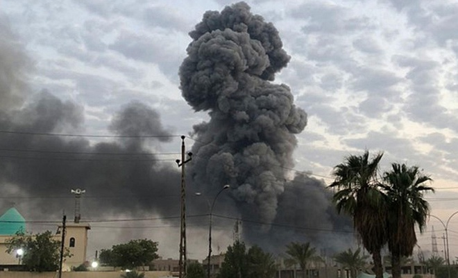Irak'ta bombalı saldırı: 15 ölü