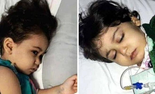 Yardım çağrıları cevap bulmayan Filistinli küçük kız vefat etti