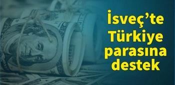 İsveç`te Türkiye parasına destek