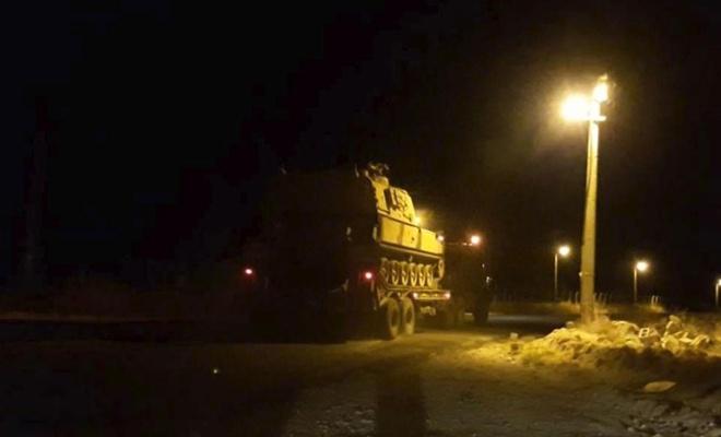 Akçakale'ye tank ve obüsler gönderildi