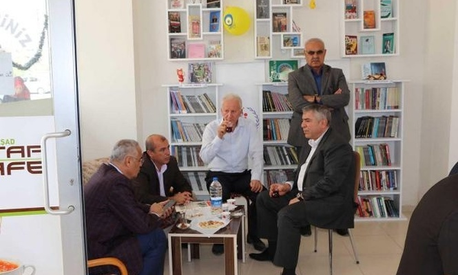 Mardin`de Kitap Kafe açıldı