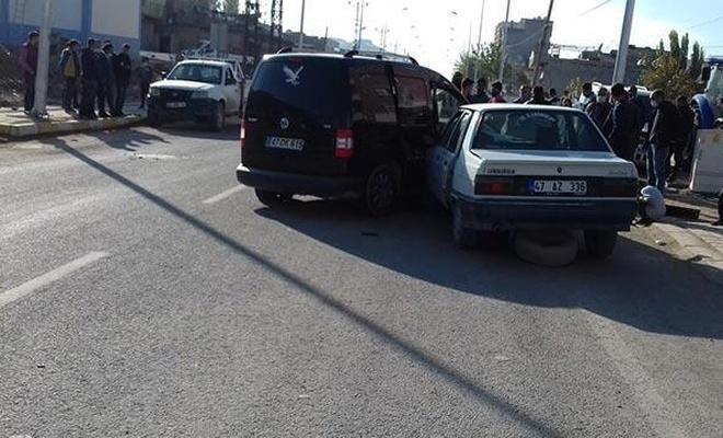 Mardin'de zincirleme trafik kazası: 1 ölü