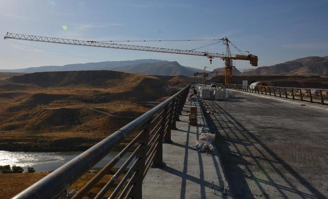 Türkiye'nin 4'üncü büyük köprüsü tamamlanmak üzere