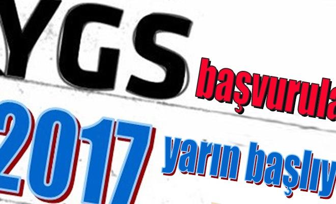 YGS başvuruları yarın başlıyor
