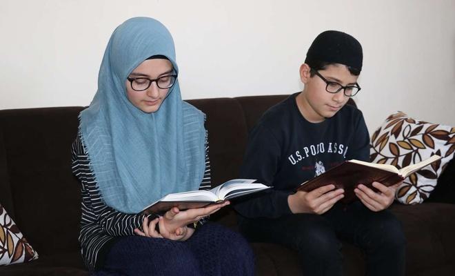 Çocuklar Ramazan'ı dolu dolu yaşıyor