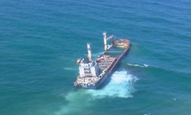 8 ay önce karaya oturan gemi kaderine terk edildi