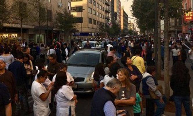 Meksika`da  şiddetli deprem şoku!