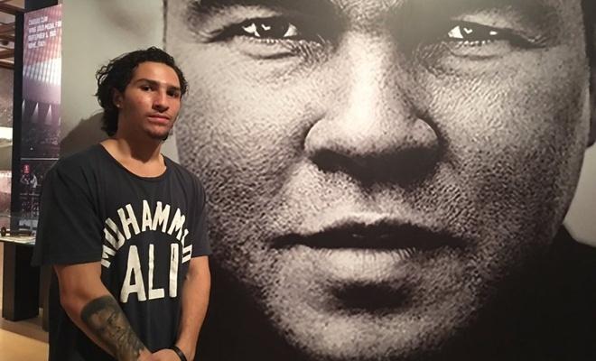 Muhammed Ali'nin torunu Nico Ali Walsh, ilk profesyonel boks maçına çıkıyor