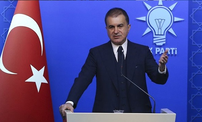 AK Parti Sözcüsü Çelik açıklama yapıyor