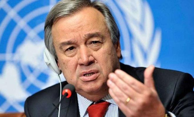 BM Genel Sekreteri Guterres ateşkes çağrısı yaptı