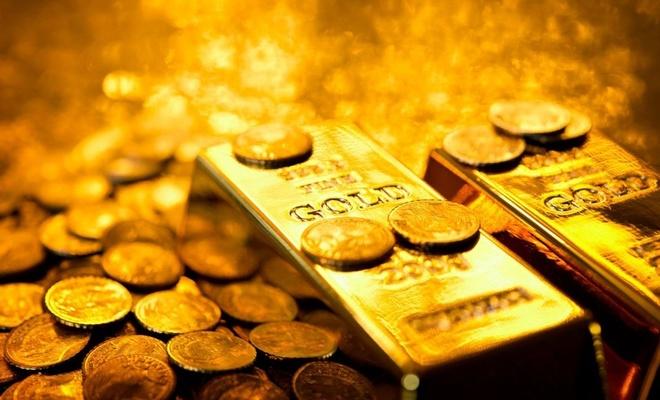 Altın yükseldi