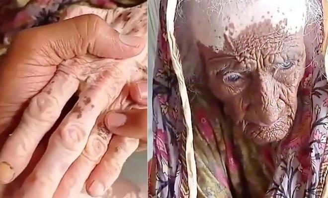 Bu kadının 300 yaşında olduğu iddia ediliyor