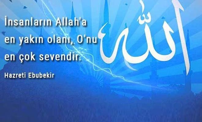 Karşılıksız ALLAH (C.C.) sevgisi