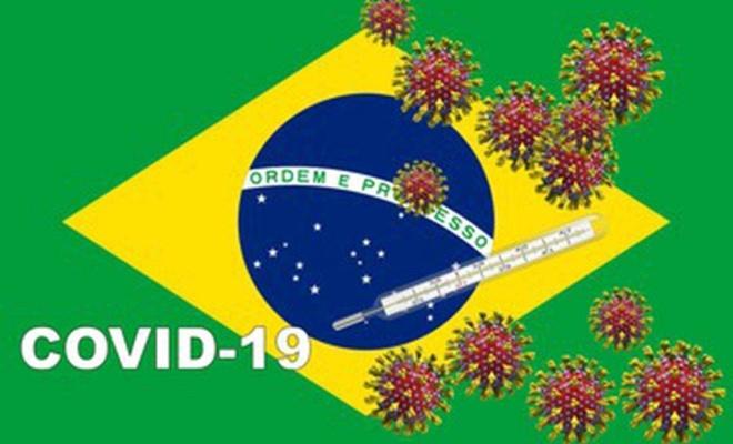 Brezilya  en fazla vakaların görüldüğü 3'üncü ülke