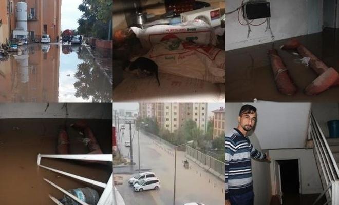 Hastane, okullar ve binalar sular altında kaldı