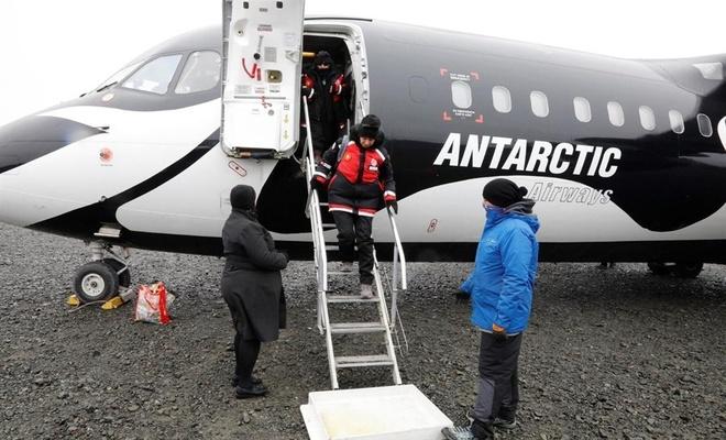 Türkiye'nin bilim insanları Antarktika'ya ulaştı