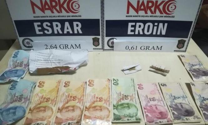 Mardin`de hırsızlık ve uyuşturucu operasyonları