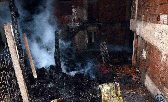 Kastamonu'da yangın: 6 ev hasar gördü