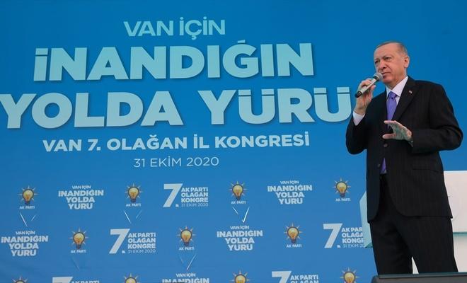 Cumhurbaşkanı Erdoğan: Ekonomik kurtuluş savaşı veriyoruz