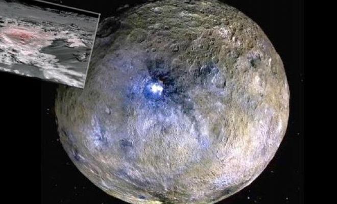 İnanılmaz keşif! Cüce gezegen Ceres'teki parlaklığın sırrı çözüldü
