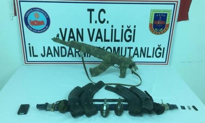 PKK`ye ait silah ve mühimmat ele geçirildi