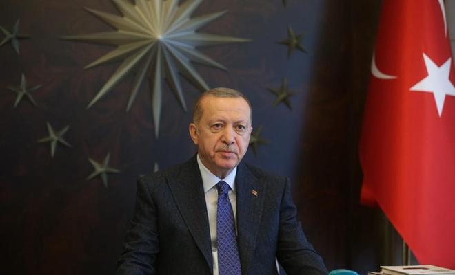 """Cumhurbaşkanı Erdoğan: """"Kurallara uyarsak bu süreçten alnımızın akıyla çıkarız"""""""