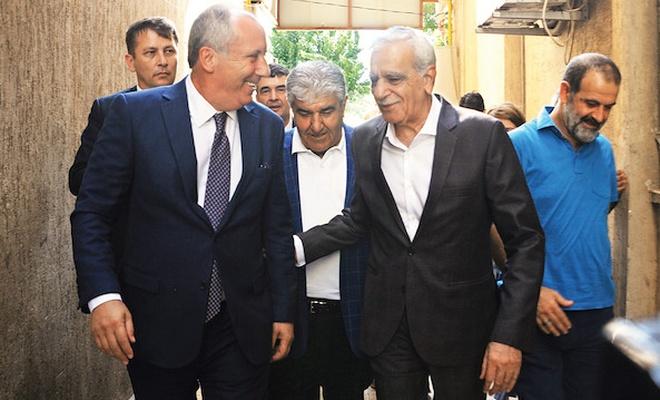 Görevden alınan başkanlara destekle yetinmeyen CHP bu kez de cezaevindeki HDP'lileri ziyaret etti .
