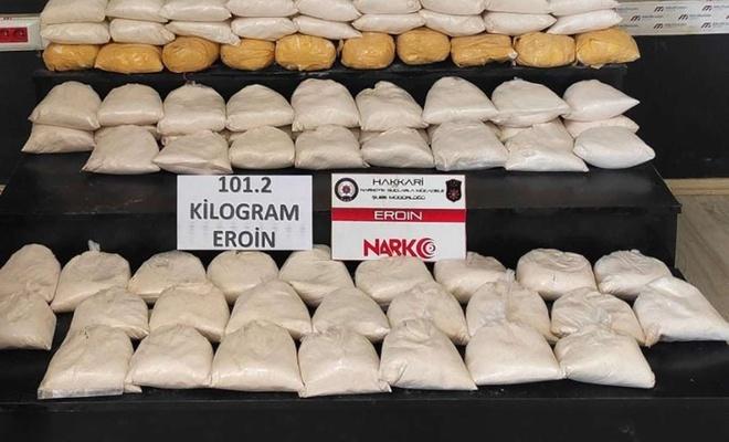 Turkish police seize 101 kg of heroin in eastern Turkey