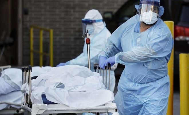 ABD'de son 24 saatte 67 bin 819 yeni vaka tespit edildi