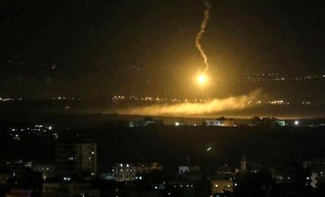 İşgal rejimi Gazze'ye saldırdı