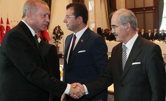 Beştepe'de belediye başkanları toplantısı başladı