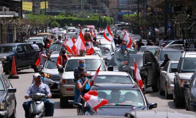 Lübnan'da gösteriler tekrar başladı
