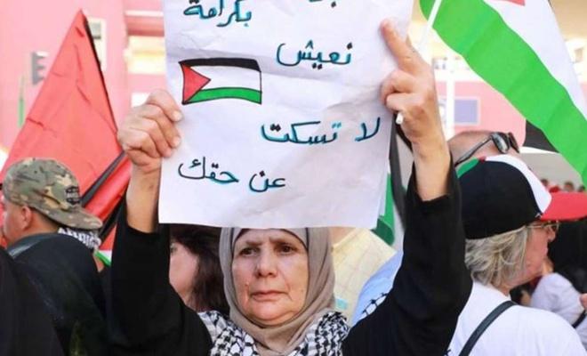 """Filistinli mülteciler """"hukuki sorunlarının çözümü"""" için Beyrut'ta oturma eylemi başlatıyor"""