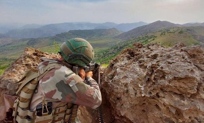 Irak'ta 3 PKK mensubu öldürüldü