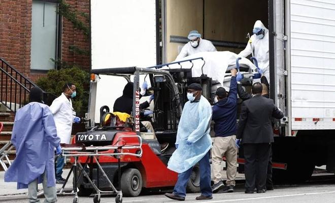ABD'de koronavirüs ölümleri 582 bine dayandı