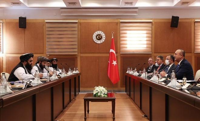 Bakan Çavuşoğlu Afganistan heyeti ile görüştü
