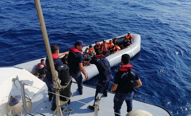 33 irregular migrants rescued off Turkey's Aegean coast