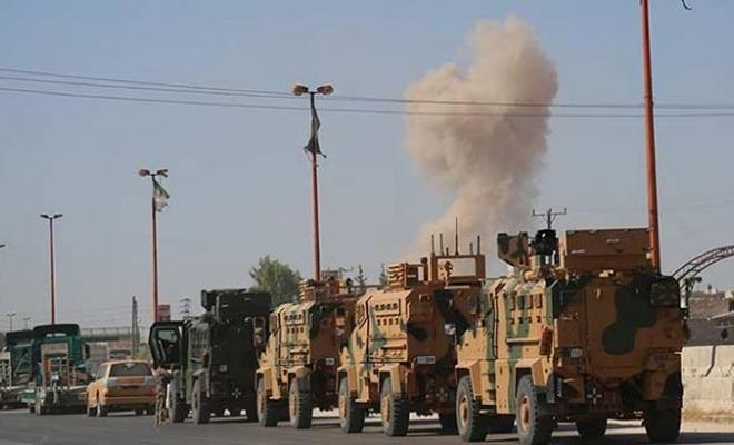 Esed rejiminden TSK gözlem noktasına taciz atışı