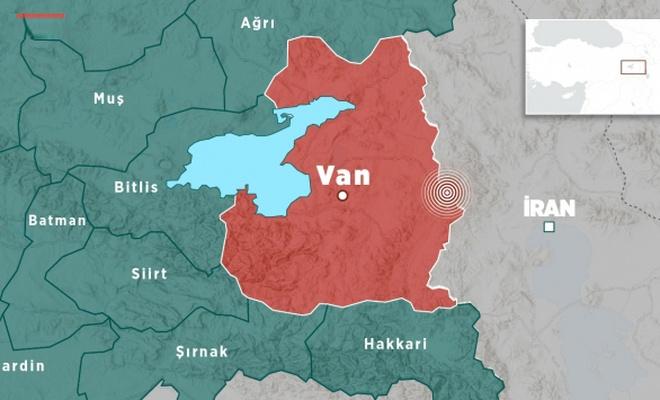İran'da  4,6 büyüklüğünde deprem