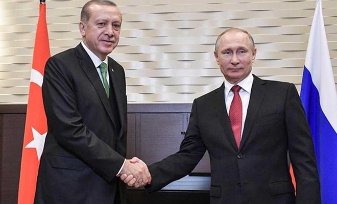 Erdoğan, Russian President Putin talk over phone