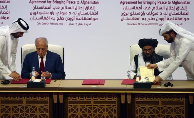 ABD İle Taliban Arasında Yapılan Antlaşma (1)