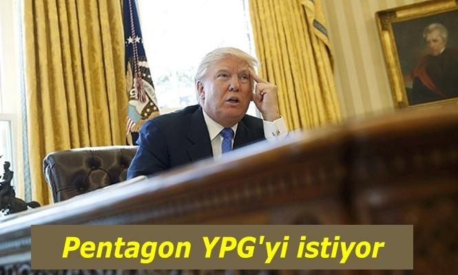 Pentagon YPG`yi istiyor