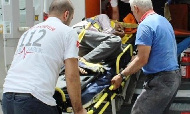 Görme engelli adamın acı ölümü!